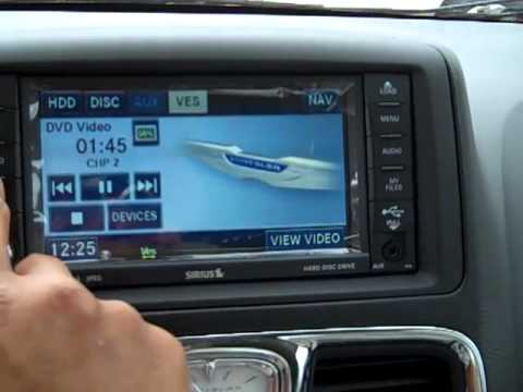 Chrysler Town Amp Country Dvd Youtube