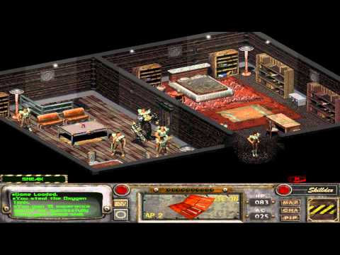 Fallout 2 - Killing Louis Salvatore (HD)