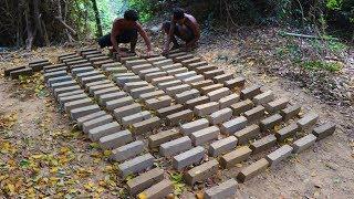 Primitive Tool : Make Mud Bricks