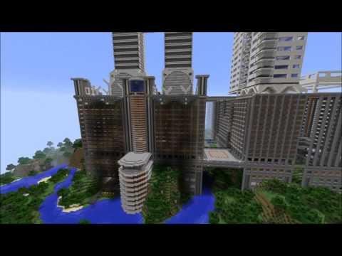 SciFi Megabuild   Part 3   Building update and flyaround quick tour