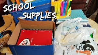 OFFICEMAX HAUL BACK TO SCHOOL DONATIONS  SCHOOL PICKUPS JULY 2018