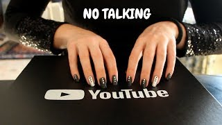 TAPPING NO TALKING ON MY SILVER BUTTON | Chiara ASMR