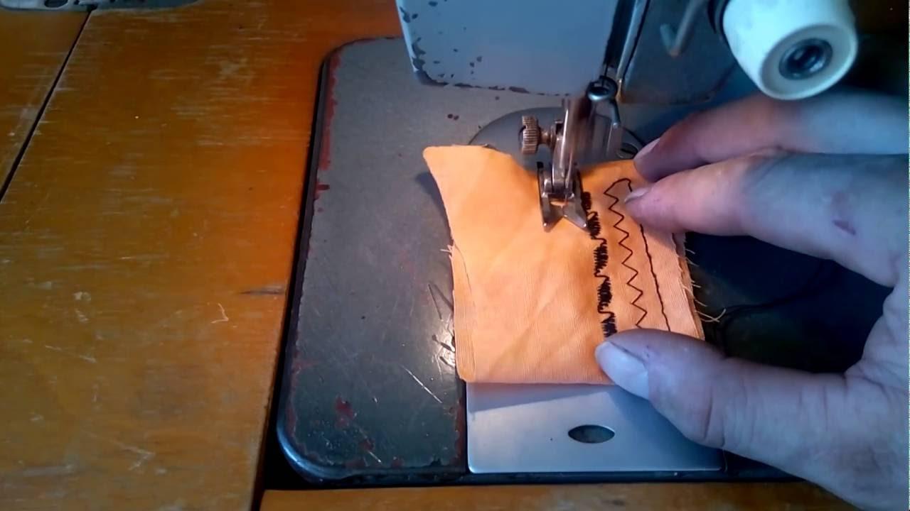 Как шить на машинке чайка 3 189