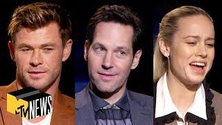 Download Song 'Avengers: Endgame' Cast Play Name That Avenger   MTV News Free StafaMp3