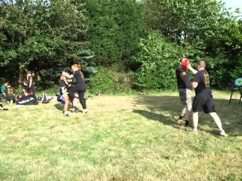 Jeet Kune Do Kickboxing  Demo Kickfit Martial Arts Academy,Nottingham,UK Image 1