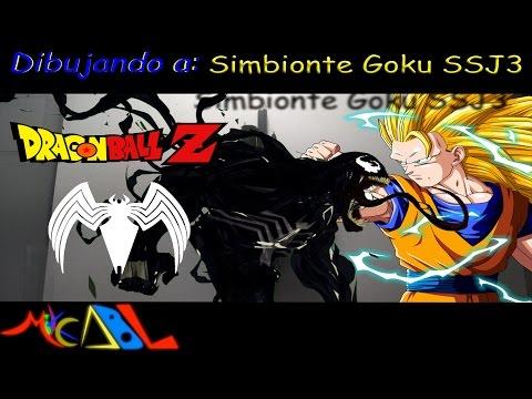 Dibujando a: Simbionte Goku SSJ3