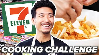 Professional Chef Tries The 7-Eleven Cooking Challenge