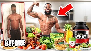 My 4 Year Body Transformation & Diet | What I Eat In A Day!