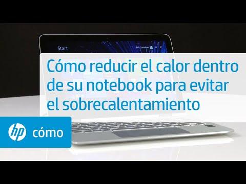 Cómo reducir el calor dentro de su notebook para evitar el sobrecalentamiento | HP Notebook | HP