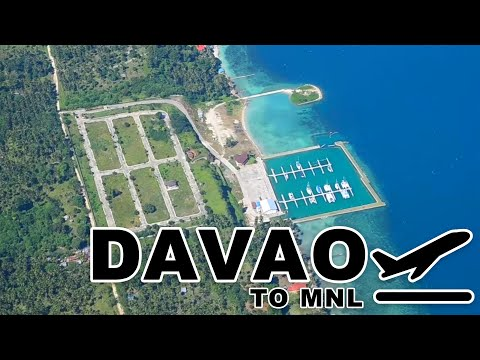 Take off at Davao (Francisco Bangoy) International Airport | PHILIPPINE AIRLINES FLT PR 812