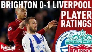 Fabinho Was Sound!   Brighton v Liverpool 0-1   LFC Player Reactions