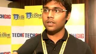 Code Gladiators 2015 - Apurv Gupta from Oracle - The Winner
