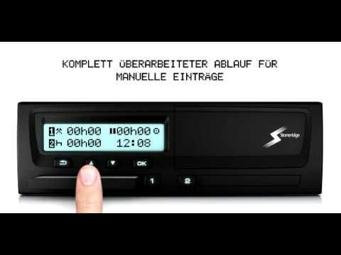 Digitaler Tachograph Vdo Der Neue Digitale Tachograph