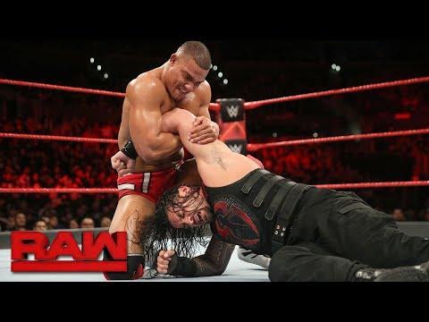 Roman Reigns vs. Jason Jordan - Intercontinental Championship Match: Raw, Dec. 4, 2017 thumbnail