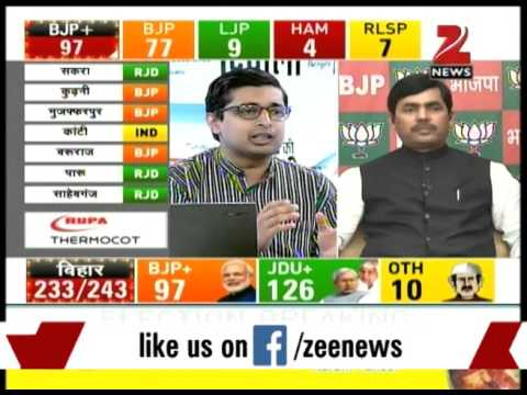 BJP's Shahnawaz Hussain reacts to Bihar election results