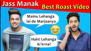 JASS MANAK | Lehanga | Latest Punjabi songs Roast video | Prince Dhimann