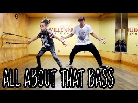 ALL ABOUT THAT BASS - @Meghan_Trainor | @MattSteffanina ft 11 Year Old TAYLOR HATALA | Dance Video