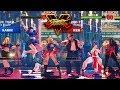 Street Fighter V AE Cammy/Sakura/Karin vs Ken/Chun Li/Juri PC Mod