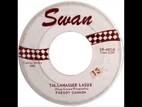 Freddy Cannon Tallahassee Lassie Video