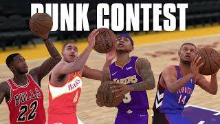 Smallest NBA Players Dunk Contest! Isaiah Thomas, Nate Robinson, Spud Webb, Muggsy Bogues! NBA 2K18