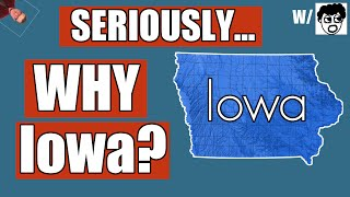 Why Does Iowa Go First?!   History of The Iowa Caucus Explained 2016