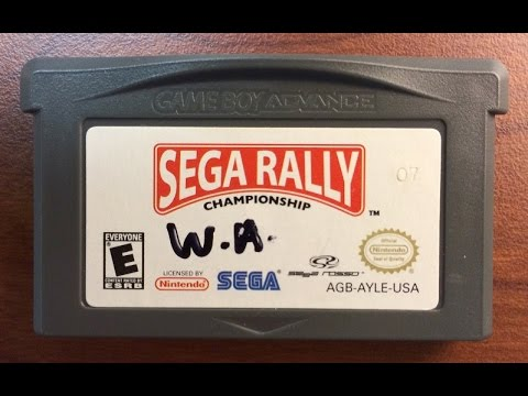 Classic Game Room - SEGA RALLY CHAMPIONSHIP review for Game Boy Advance