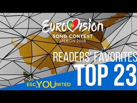 Eurovision 2018 Top 23 | Readers' Favorites so far