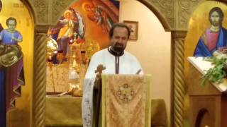 Orthodox Sermon Descent Of The Holy Spirit