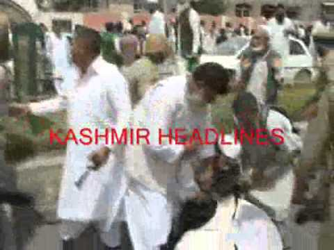 Clashes erupted In Hyderpora