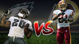 Sean Taylor Vs Brian Dawkins | Epic Highlight Battle | Madden NFL 17