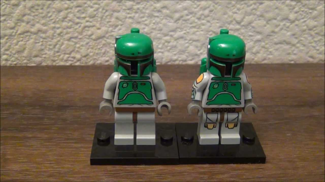 Lego Star Wars Boba Fett Minifigure Lego Star Wars Boba Fett