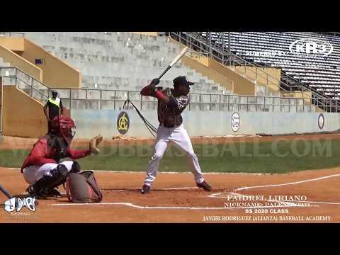 Fraidel Liriano SS 2020 Class (Javier Rodriguez Baseball Academy) Date video: 27/08/2017