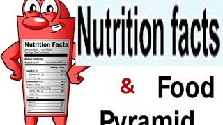Food Pyramid , Nutrition Facts ,Balanced Diet