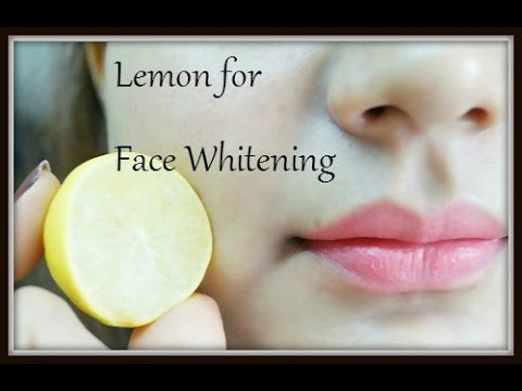 How to Whiten Skin with Lemon