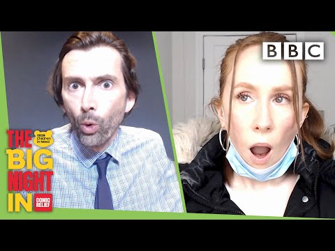 Lauren got TikTok famous but is she bovvered? | The Big Night In - BBC