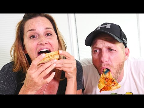 Gross Pizza Challenge | HOT, SWEET, SOUR, GUMMY Pizza  (DCTC Challenges)