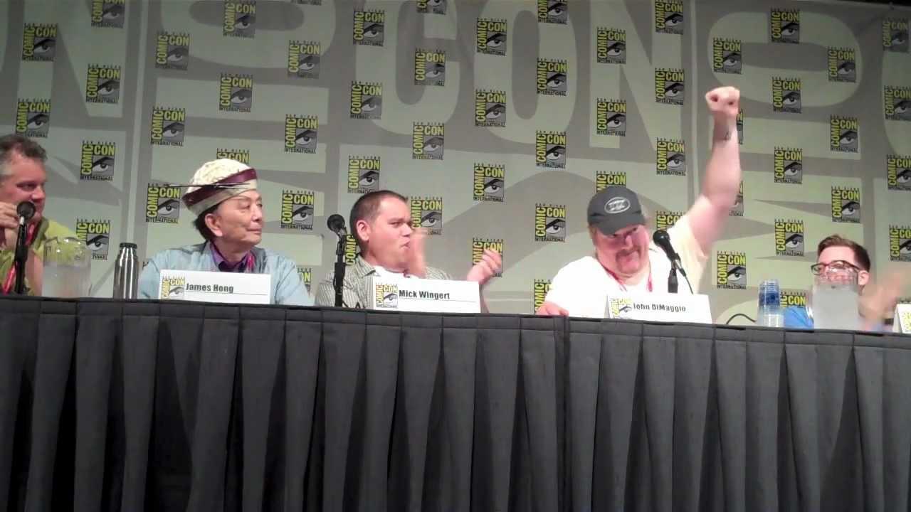 Mick Wingert Comic Con Kung Fu Panda