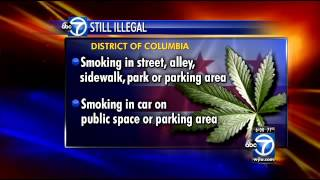 D.C. marijuana decriminalization takes effect Thursday