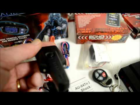 My review on the Excalibur AL1830EDPB / AL1830EDP 2 Way Alarm Remote Start