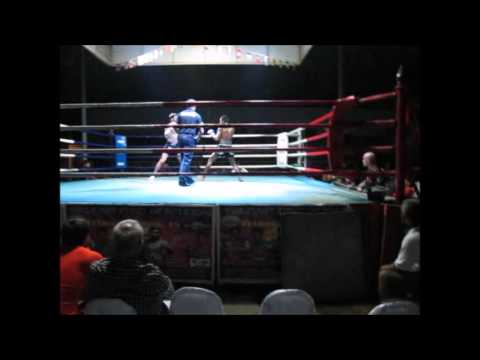 Ahmed Combat 360X vicious Muay Thai fight at Khao Lak boxing stadium