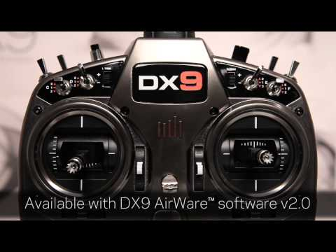 DX9 9-Channel DSMX® Transmitter by Spektrum