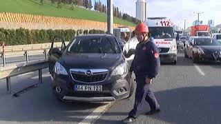 Bağcılar'da Trafik Kazası: 4 Yaralı