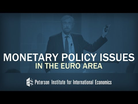 Praet: Monetary Policy Issues in the Euro Area