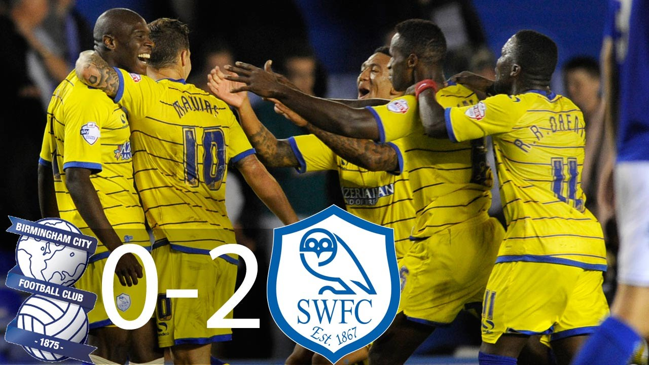 Birmingham City 0-2 Sheffield Wednesday