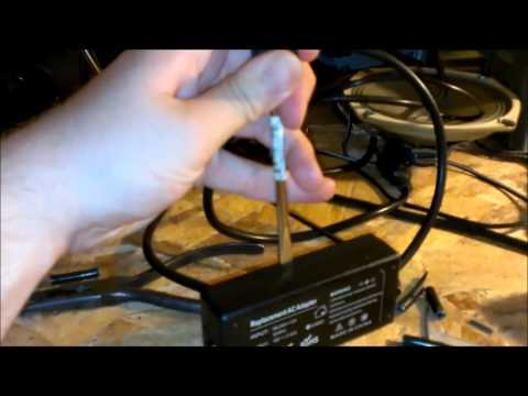 Laptop power supply repair