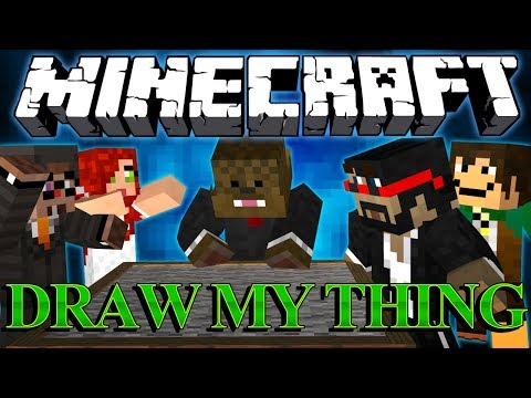 Minecraft Draw My Thing w/ CaptainSparklex, Antvenom, ChimneySwift, Aureylian, Jordan and Parker! #2