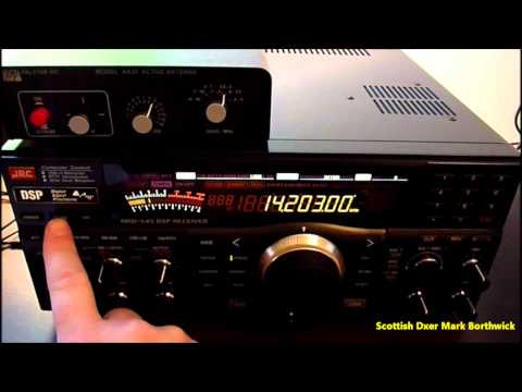 Amateur Radio DX ZS6TQ Barney South Africa Received In Scotland On 20m with Wire Antenna