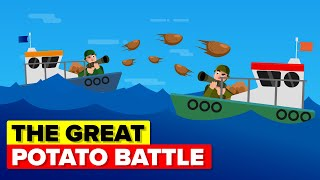 How to Sink a Sub with Potatoes - Insane WWII Sea Battle Food Fight