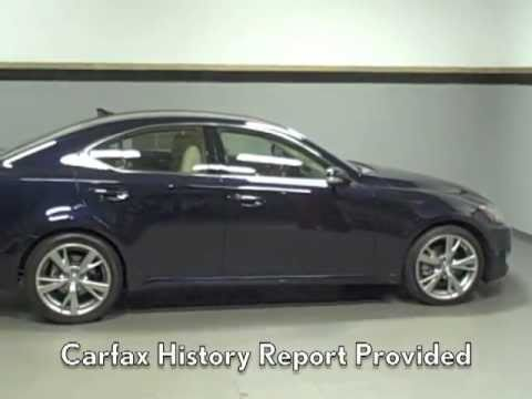 2010 Lexus IS 250 Available at Lexus of Richmond - YouTube