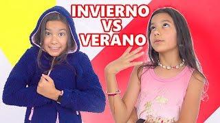 DIA DE VERANO VS DIA DE INVIERNO | TV ANA EMILIA